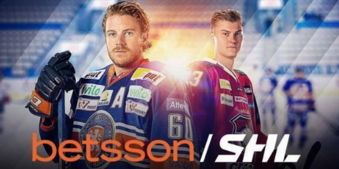 Betsson Agreed Extended Partnership With Swedish Hockey League