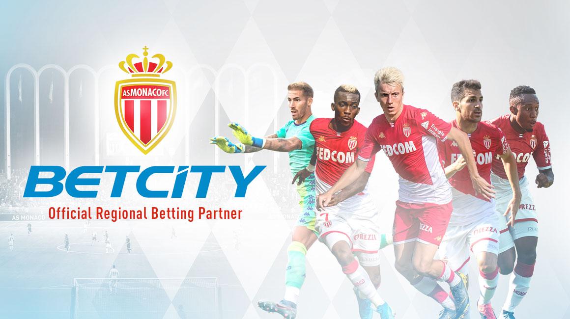 AS Monaco Announces BetCity As Official Betting Partner