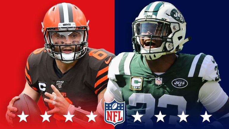 Cleveland Browns v New York Jets Most Wagered On This Season