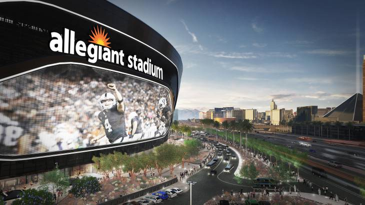 San Manuel Casino Joins Forces With Allegiant Stadium and NFL's Raiders