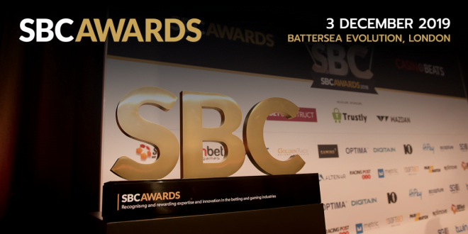 Shortlisted For Top Prize At SBC Awards Are International Casino Operators