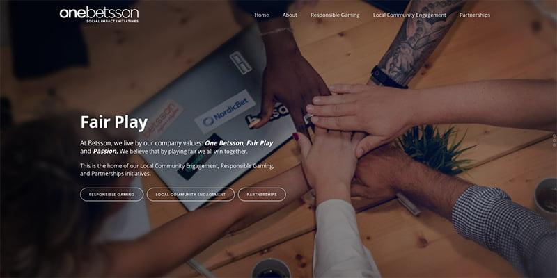 Betsson AB Launch Information Platform onebetsson.com
