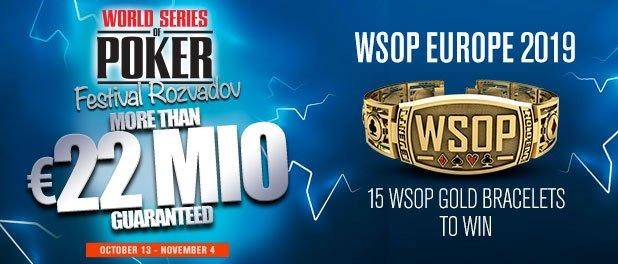 Poker Central Streams WSOP Europe Via PokerGo