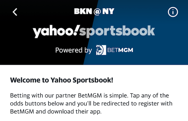 BetMGM Powered Yahoo Sportsbook Launched In New Jersey