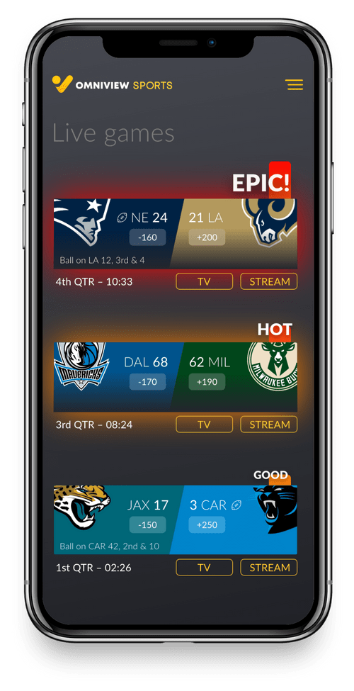 OmniView's GameChangr To Change The Way You Watch Sports