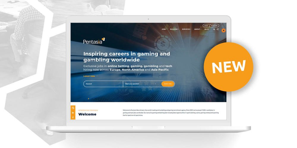 Pentasia Launches New Website Better Equipped For iGaming Industry