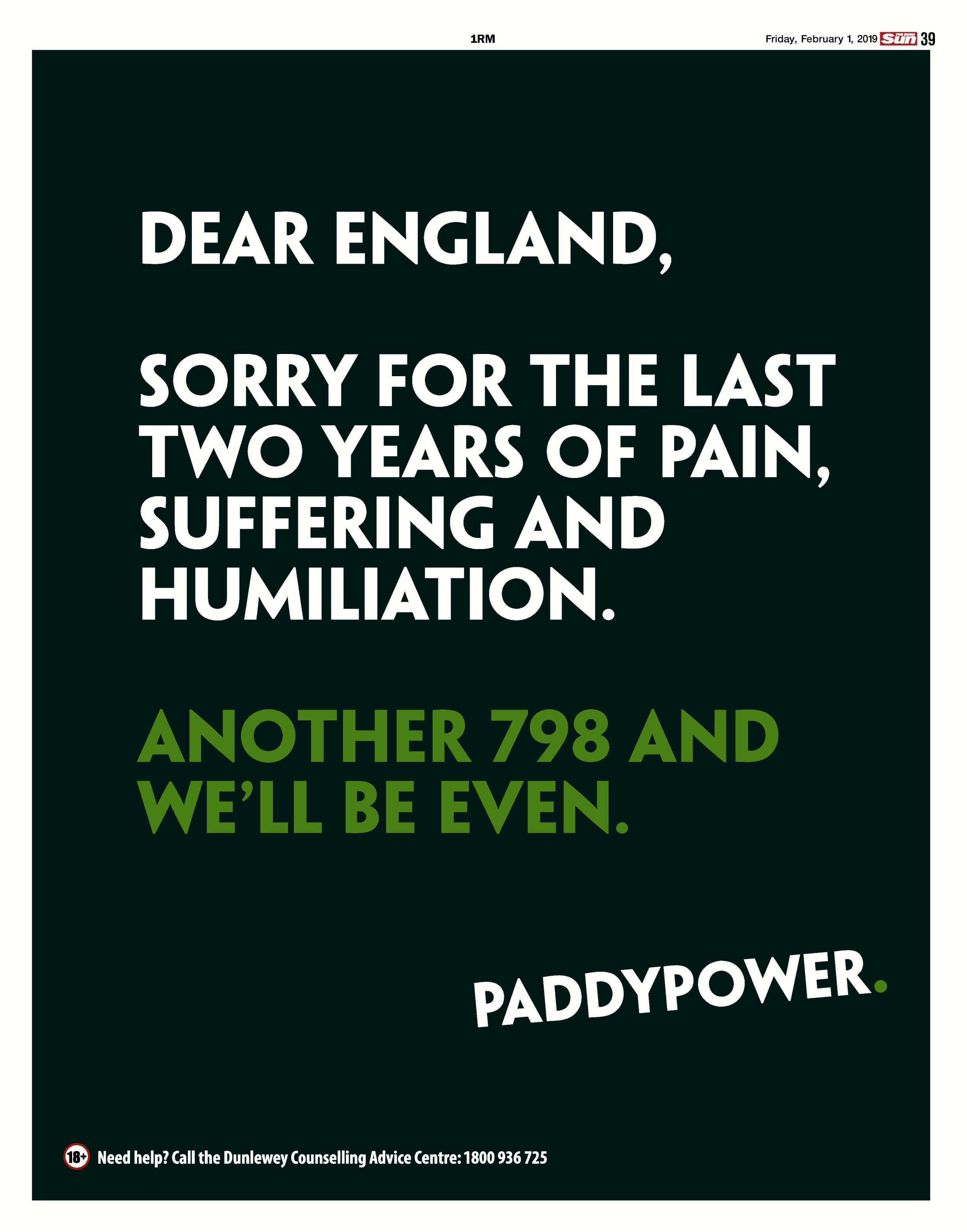 Paddy Power Receives Slap On Wrist After Racist Ad Complaints