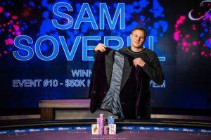 Sam Soverel Wins 2019 Poker Masters Purple Jacket