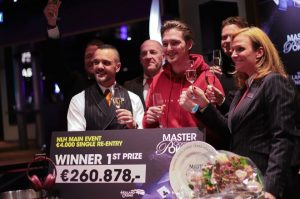 Kevin Paqué Wins Master Class Of Poker Main Event