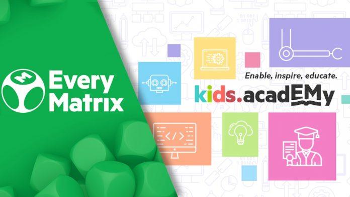 EveryMatrix Marks 5 years of its Kids Academy