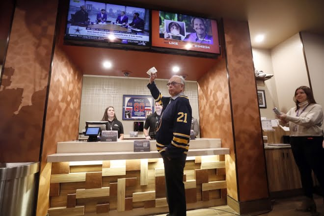 Seneca Buffalo Creek casino Debuts Sports Betting In Buffalo