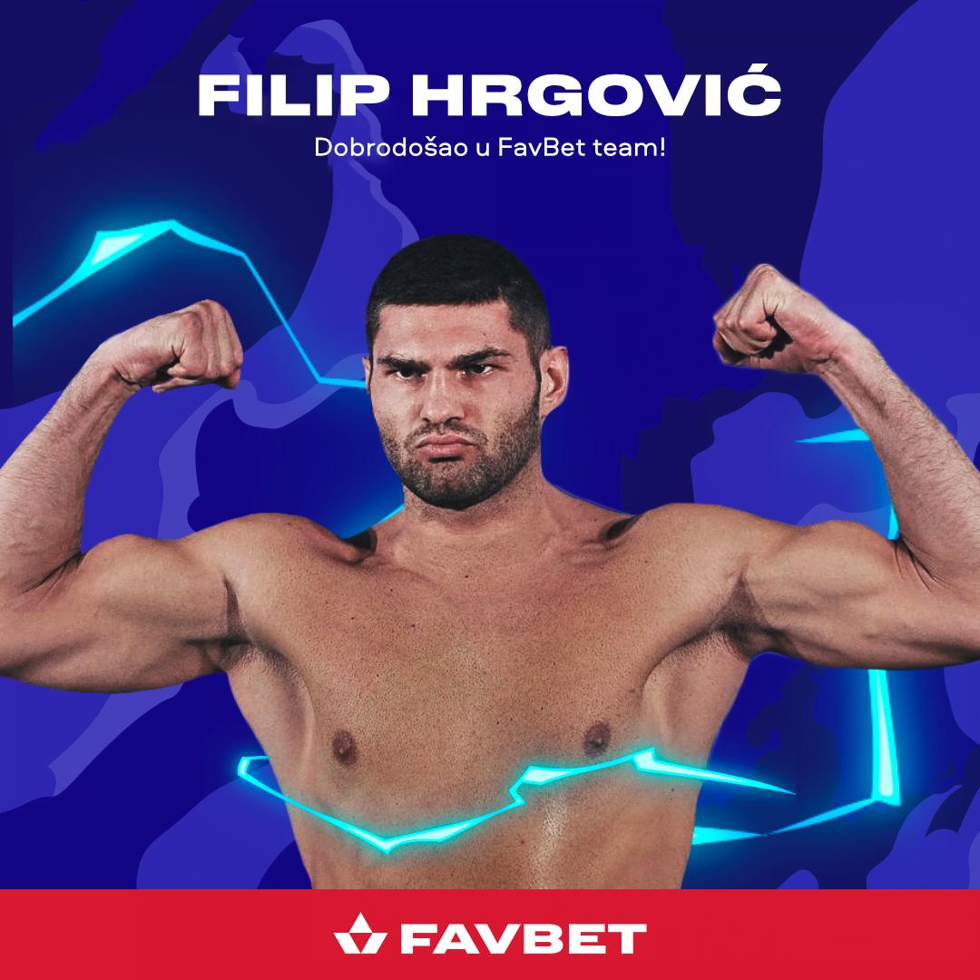 FavBet Names Filip Hrgović As Brand Ambassador