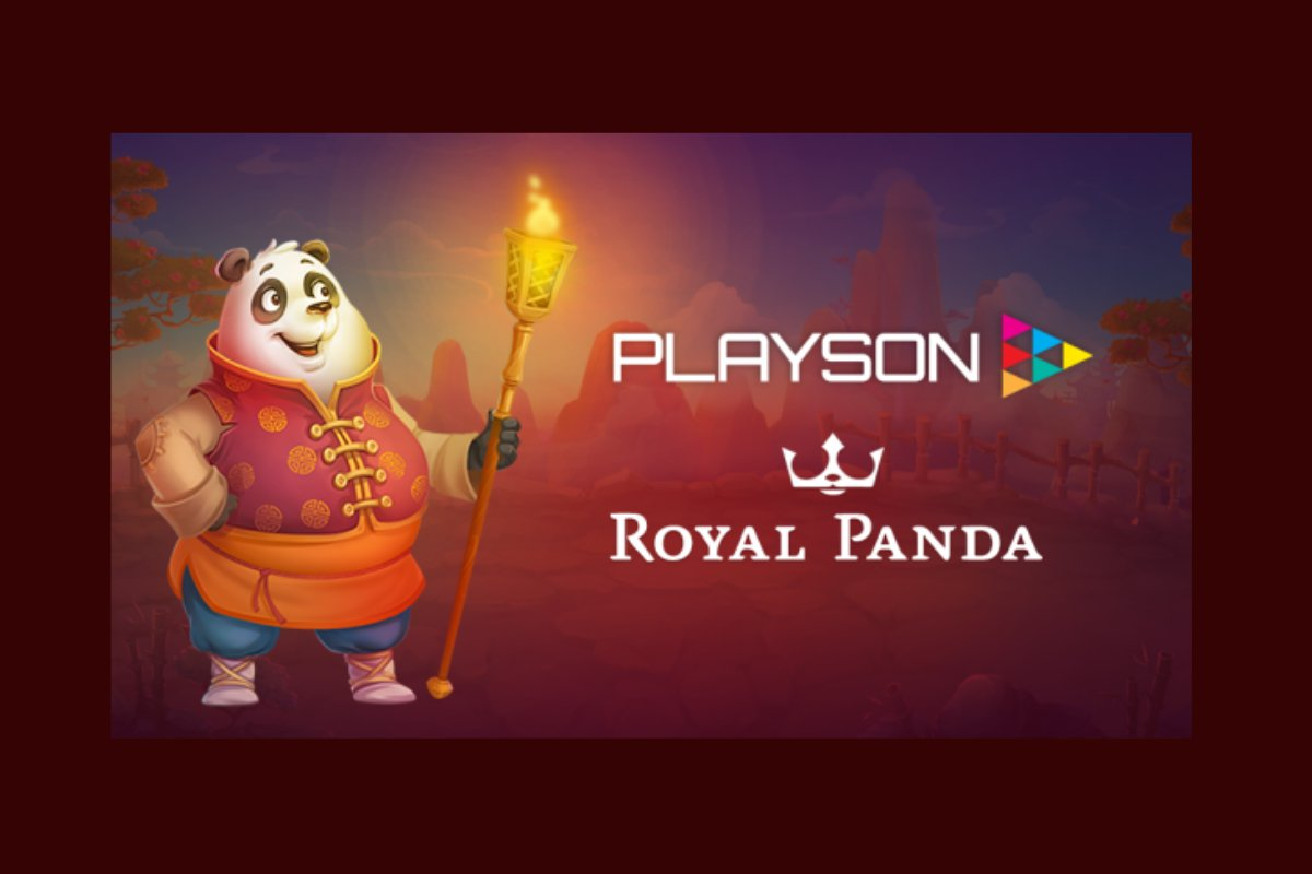 Playson Signs New Deal With Royal Panda