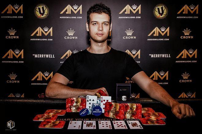 Michael Addamo A$50,000 Aussie Millions Challenge