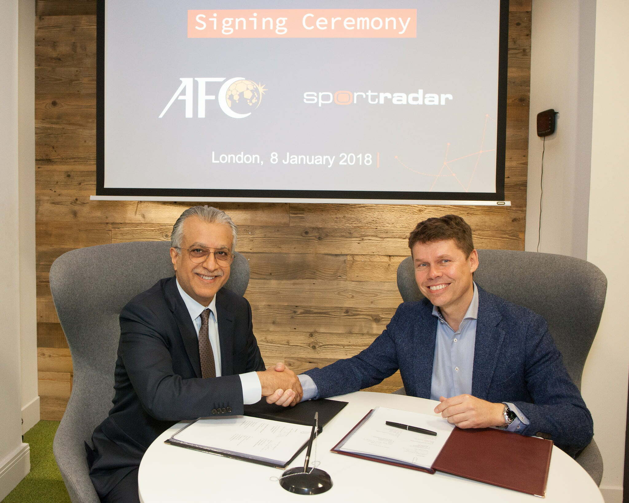 Sportradar Renews Long-standing AFC Relationship