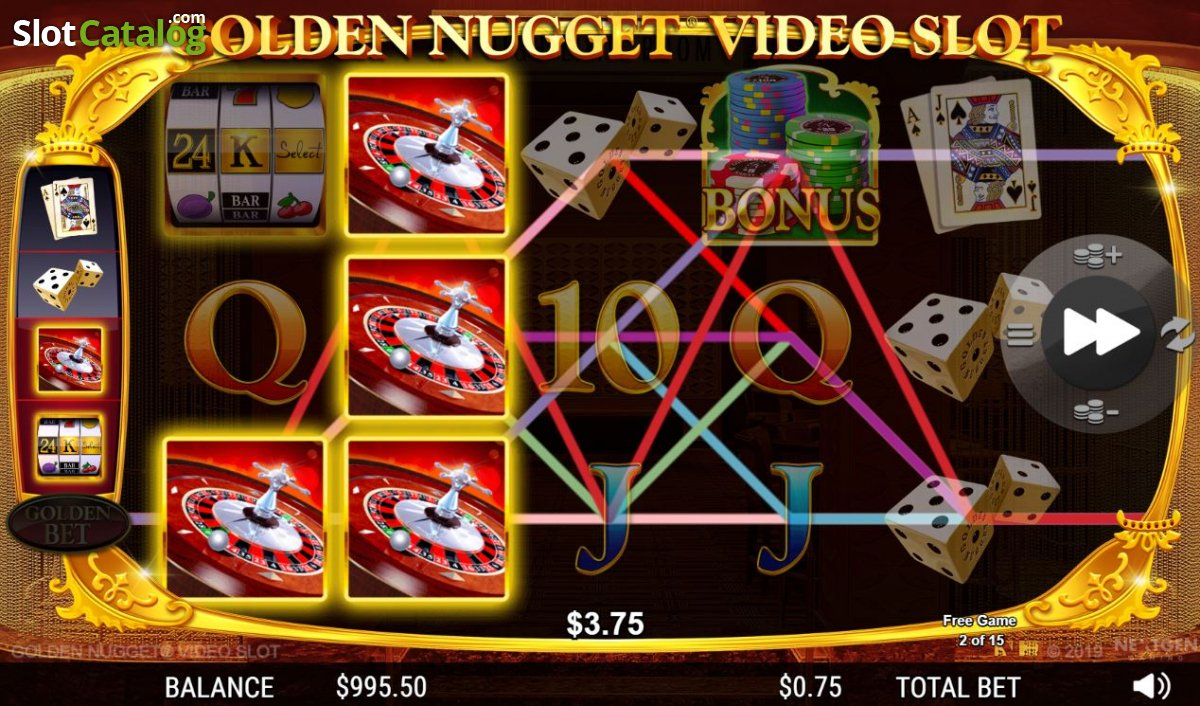 Golden Nugget Introduces First US Branded Video Slot Game