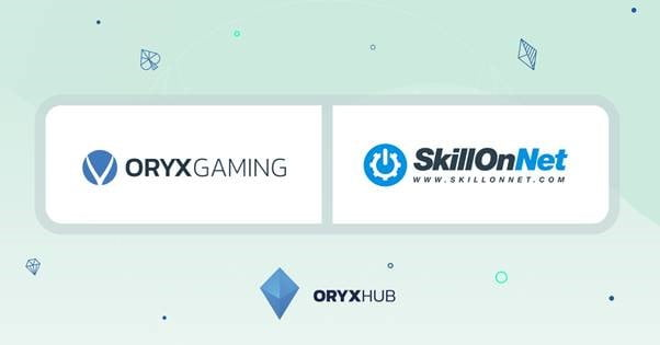 Oryx Gaming Inks New Agreement With SkillOnNet