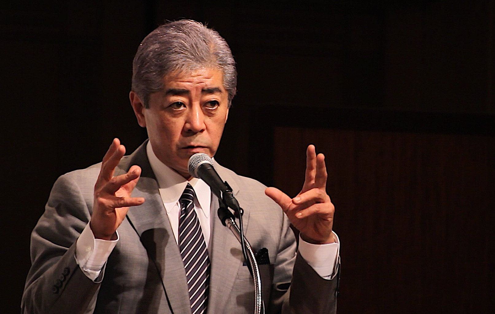 Japanese Defence Minister Takeshi Iwaya Denies Cash Bribary