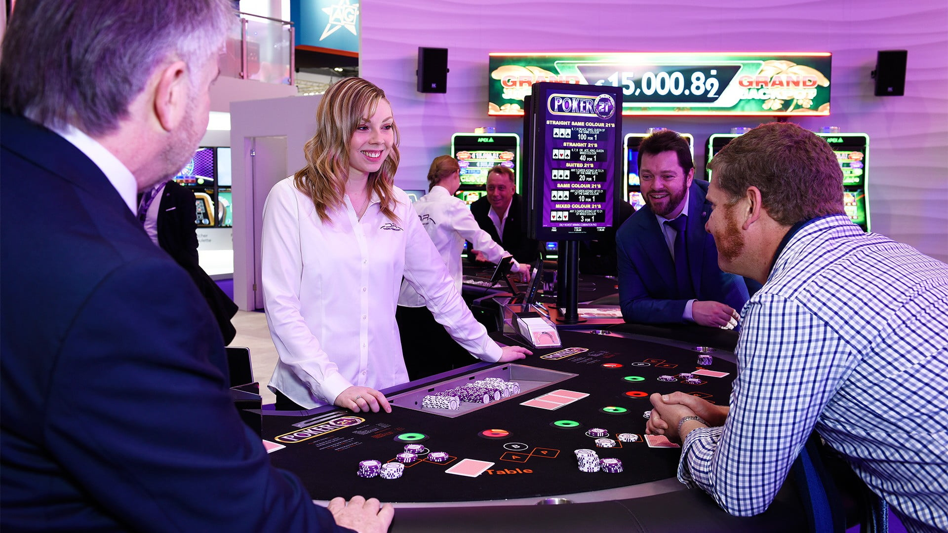 Infiniti Tables Jackpot Arena Launched By DRGT At ICE London
