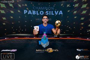 Pablo Silva Wins Partypoker MILLION South America Main Event