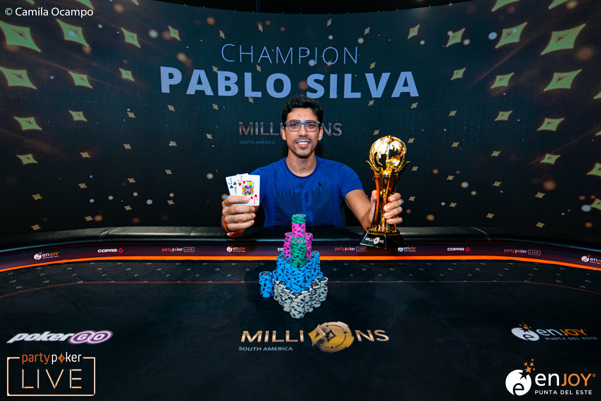 Pablo Silva Wins Partypoker MILLION South America Main Event