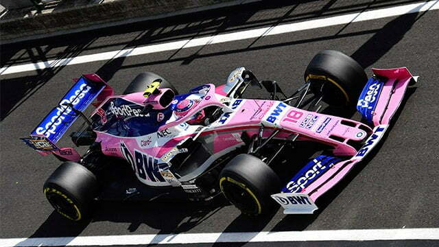 F1 Team Racing Point Drops SportPesa's Sponsorship