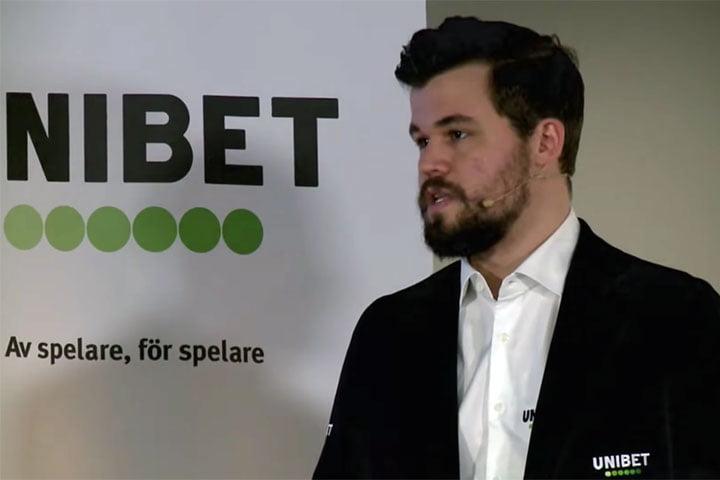 Unibet Signs Chess Grandmaster Magnus CarlsenAs Brand Ambasador