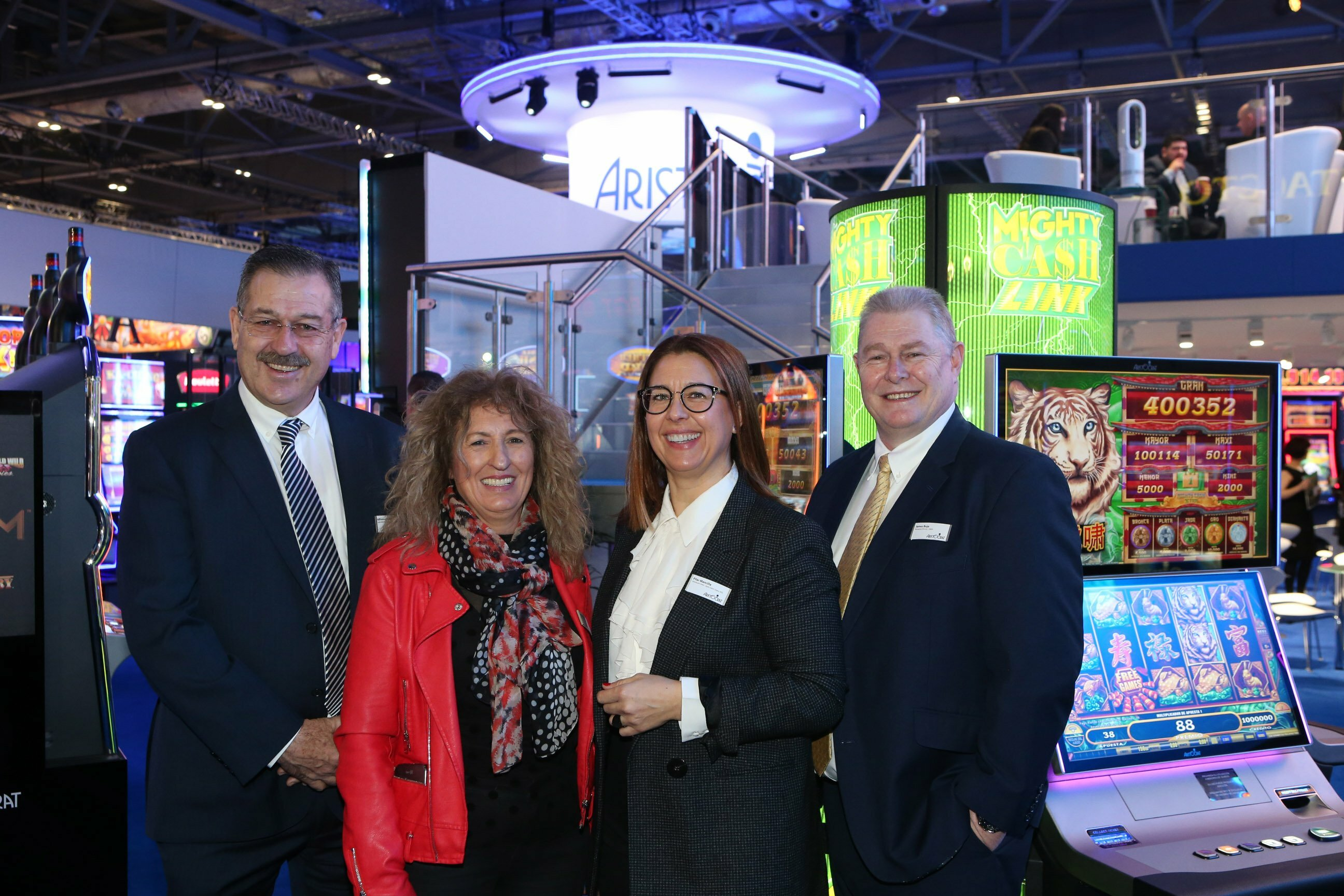 Aristocrat Signs Distribution Deal With Grupo VD