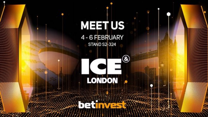 Betinvest To Launch Online Slot Games At ICE London