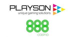 Playson Announce 888Casino Partnership