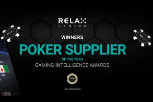 Relax Gaming Claims Poker Supplier Of The Year