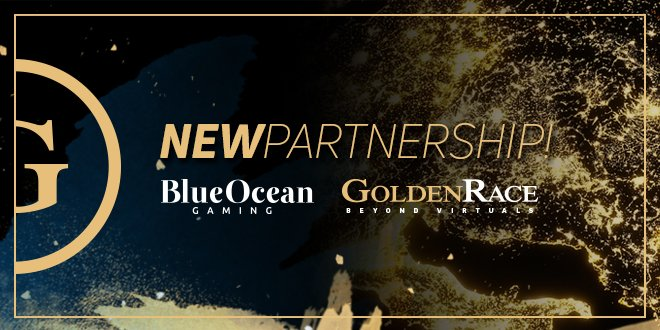Golden Race Virtual Sports Content Available Via Blue Ocean Gaming