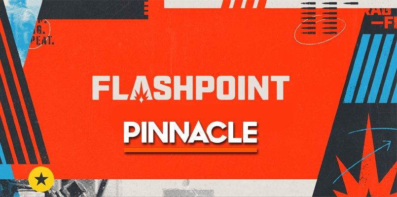 Pinnacle Made Official Sponsor Of FLASHPOINT