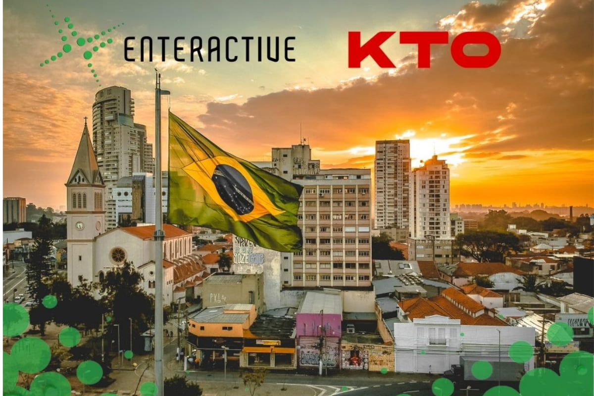 Enteractive Signs Contract With KTO Securing Brazilian Entry