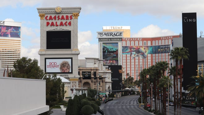 Las Vegas The Home Of Poker Lies Abandoned