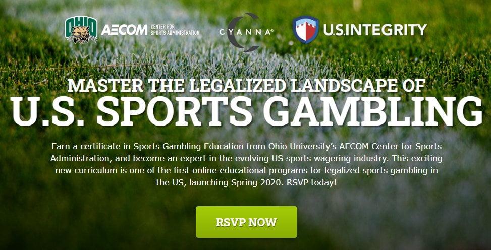 Ohio Uni Launch Sports Gambling Education Certificate