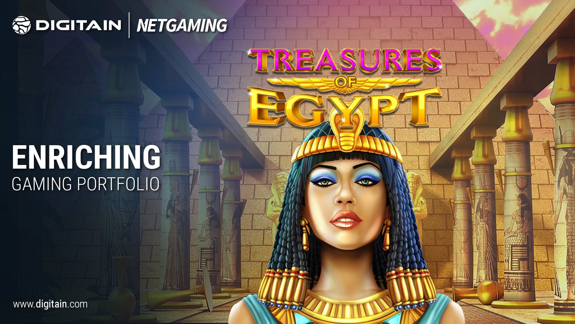 Digitain Further Expands Content Portfolio With NetGaming