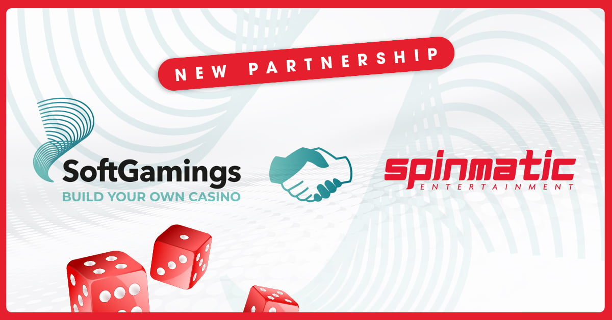 Spinmatic Partners With SoftGamings Platform