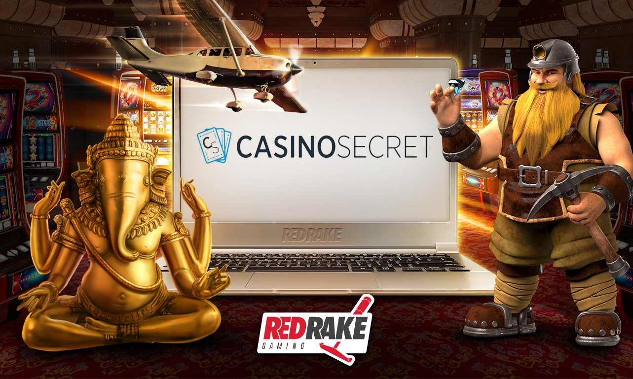 Red Rake Announce CasinoSecret Content Agreement