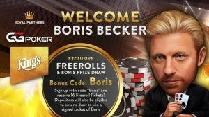 GGPoker Announce Boris Becker As website Ambassador