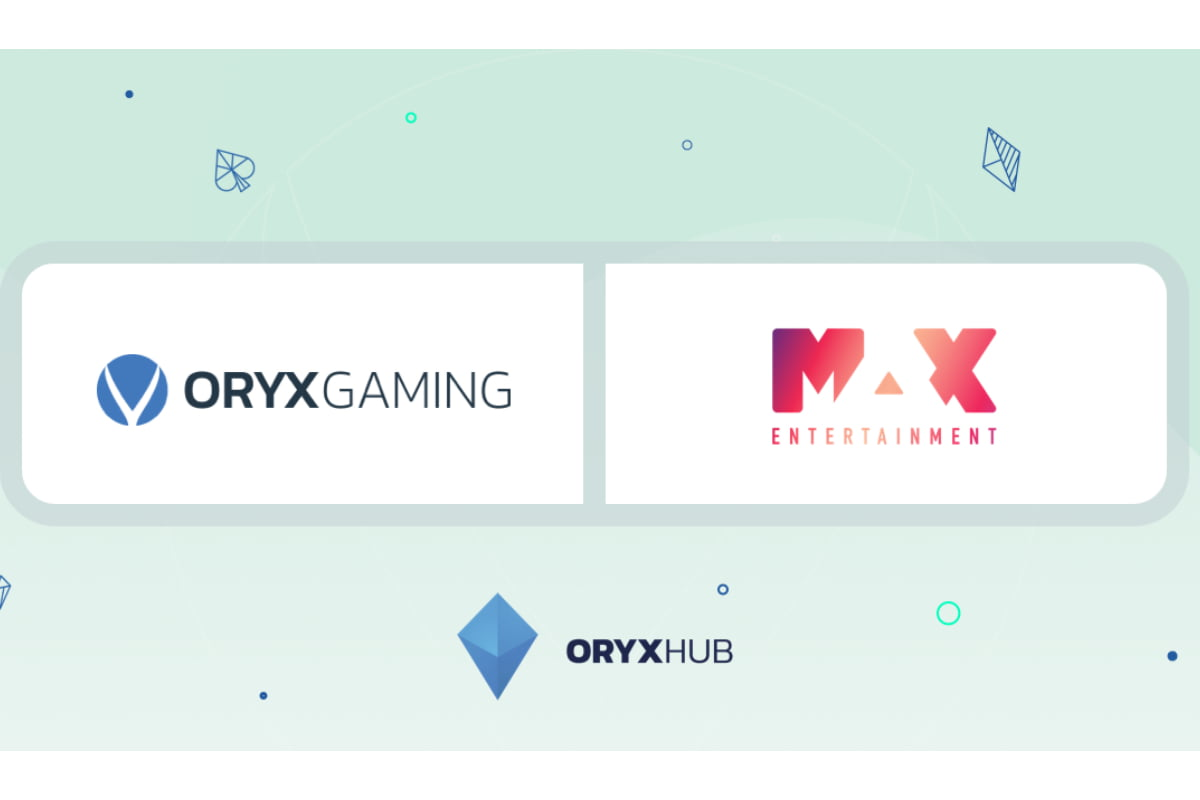 Oryx Gaming Goes Live With MaxEnt Brands