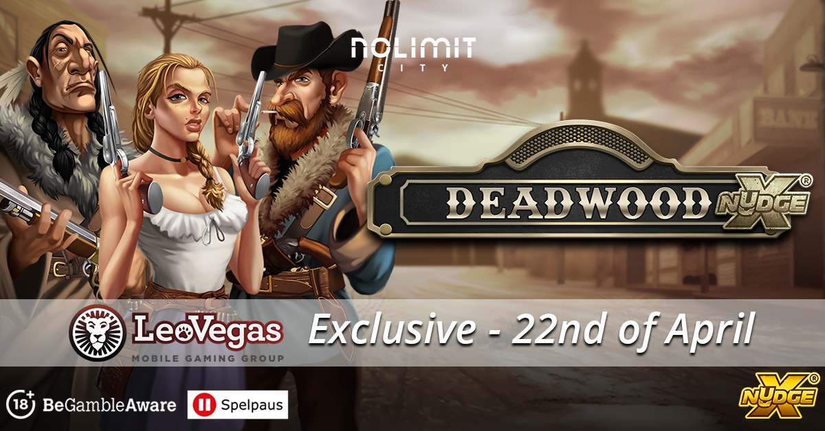 LeoVegas Ink Deal With Nolimit City For Deadwood Slot Launch