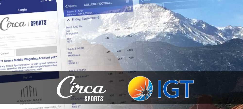 IGT's Playsports Platform To Drive  Circa Sports Colarado App