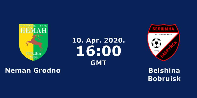 Neman Grodno vs Belshina Bobruisk – Belarus Premier League LIVE Stream