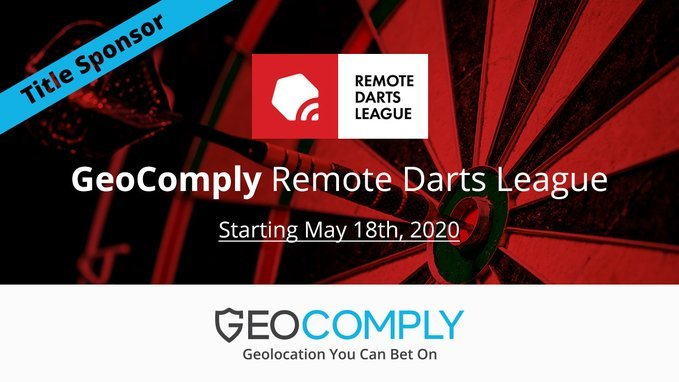 GeoComply Title Sponsor For Remote Darts League