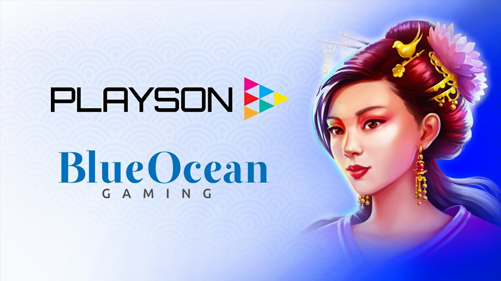 Playson Announce New Partnership With BlueOcean