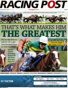 The Racing Post To Return To Print June 1