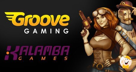 GrooveGaming Adds New Content Via Kalamba Games