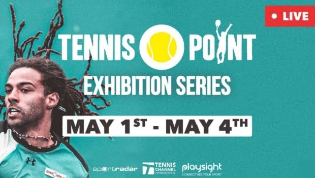 Sportdadar And PlaySight Partner For Tennis Point Exhibition Series