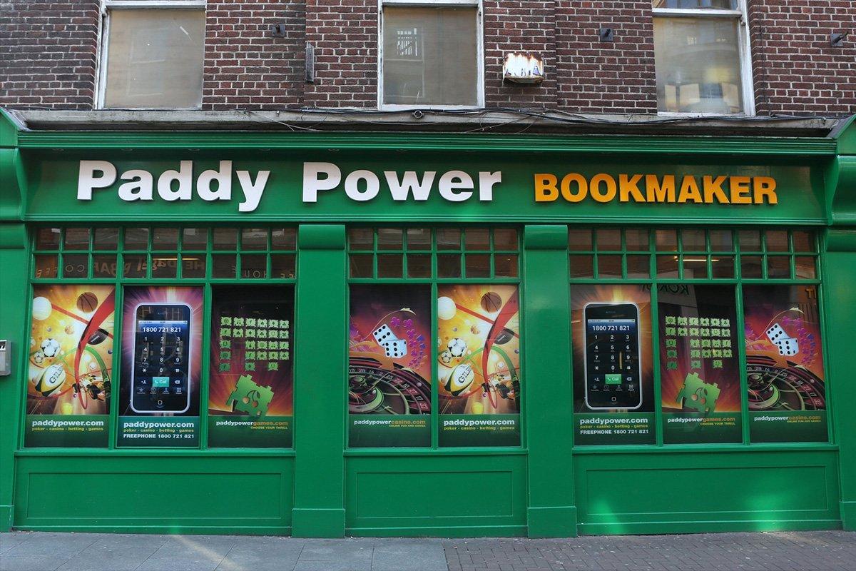 Paddy Power To Open English And Irish Betting Shops